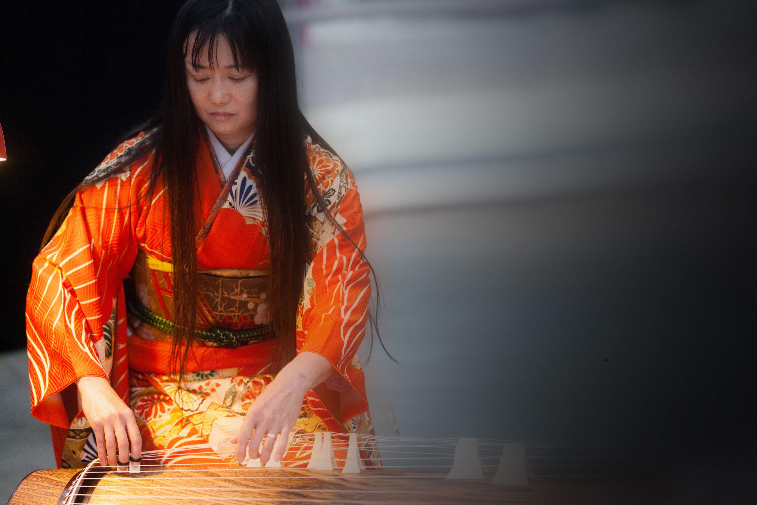 Foto Goto Makiko Koto-Workshop