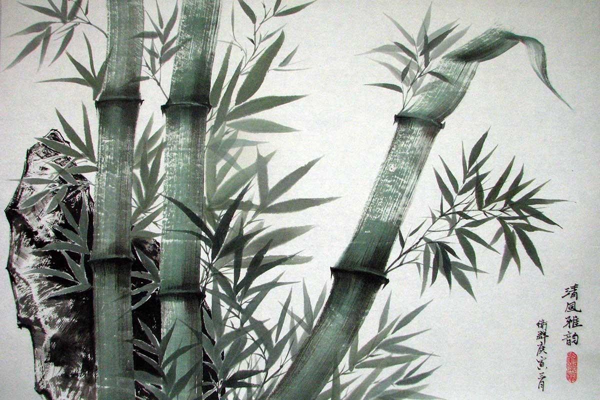 Chinesische Tuschmalerei