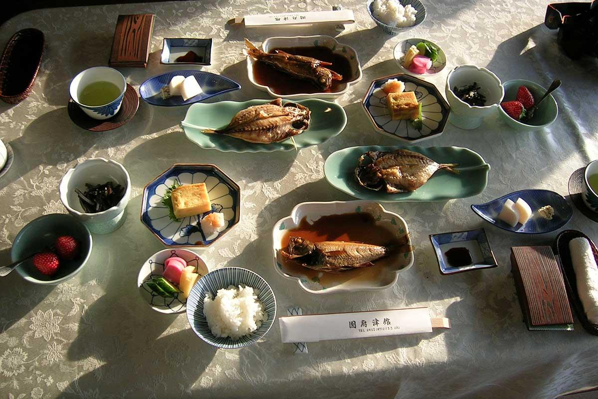 Foto Gesunde japanische Küche