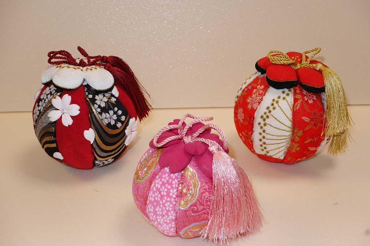 Foto temari aus japanischer Knete